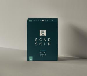 SCND SKIN EGGXPERT sheet mask packaging